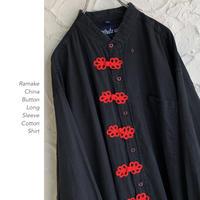 Remake China Buttonシャツ