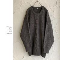 Vintage Aran Knit セーター