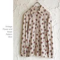 Vintage Flower Patternブラウス