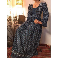 70's  Indian Cotton Dress