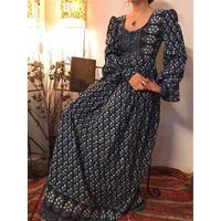 70's  Indian Cotton Dress