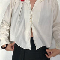 30's British cotton Shirt