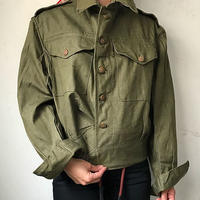 50s Dead Stock British Army Green Denim Blouson size4