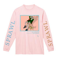 SPRAWL KIDS L/S Tee /Light Pink