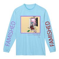 FAMISHED KIDS L/S Tee /Light Blue