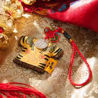 【限定1枚】北港朝天宮「虎爺」羽織型悠遊カード(交通系icカード)★送料無料