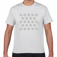 23ドットTシャツ(シルバー)