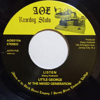 Little George N' The Mixed Generation / Listen (7inch)