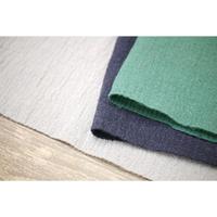 【2重織り】 fanage 表コットン75%シルク25%  シルク混 、裏コットン100%ガーゼ生地/10cm
