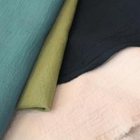 【厚めのダブルガーゼ 】fanageコットン100% 30番手 ツイルダブルガーゼ生地/10cm