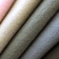 【シャツにおすすめコットン】 fanageコットン100% スケアー平織り生地/10cm ス2003