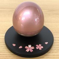 骨壺  (桃)と供養台(桜) セット