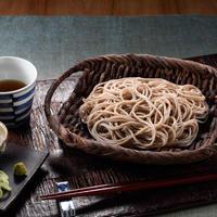 とろろつなぎ山芋そば 乾麺 5袋【TYS-5】