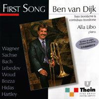 """★item012 ベン・ファン・ダイク CD """"ファースト・ソング"""" Ben van Dijk CD """"First Song """" (2003)"""