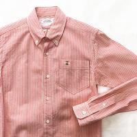 コードレーン  ボタンダウンシャツ ミツバチ刺繍