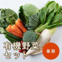 【単発注文】安城市産 有機野菜セット(税/送料込み)※安城市在住者限定