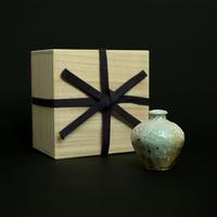 楽杜焼壺(らくとやき)成型:奥田章-3時間焼成-