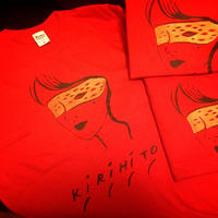 KIRIHITO TEE-37A ver. (K-WOMAN)- red(赤) 特別限定仕様