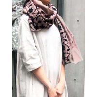 takeoff_embroidery stole【nono-Hana emb】