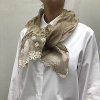 enbroidery stole【エンブロイダリー・レースストール mini】
