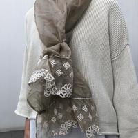 enbroidery stole【エンブロイダリー・レースストール】