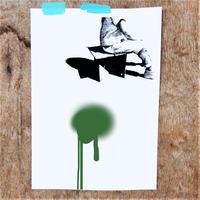 ベニヤ(Cross Board)  Army Olive Drab