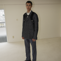 TAILORED JACKET (REFLECTOR TWEED) [510202]