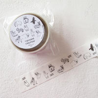 動物たち 梱包テープ