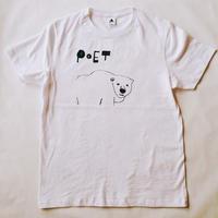 Tシャツ poetクマ