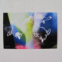 CD付き絵本「Tyran(ティラン)」グッズ 夜遊び探検隊ポストカード