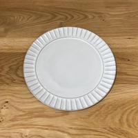 リム皿 白