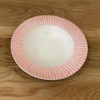 しのぎリム皿