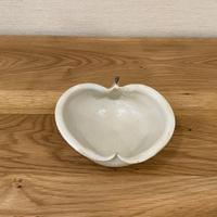 りんご鉢 粉引・小