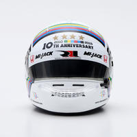 佐藤琢磨 1/5スケール ミニチュアヘルメット 10th ANNIVERSARY 2019