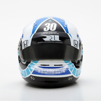 1/5 ミニチュアヘルメット INDYCAR GP 2018