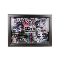 インディカーシリーズ参戦10周年記念フォトフレーム