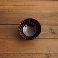 ぎやまん陶〜茶碗〜 漆ブラウン
