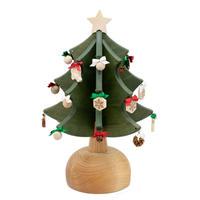 木製オルゴールツリー〜プチ〜 グリーン