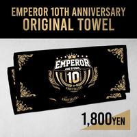 EMPEROR 10TH ANNIVASARY タオル