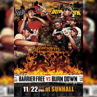 決戦 -SOUND CLASH (DVD) - [BARRIER FREE VS BURN DOWN]