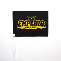 EMPEROR FLAG [BLACK & GOLD]