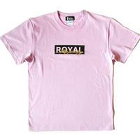 ROYAL MAJESTY ボックスロゴ Tシャツ [ライトパープル]