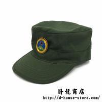 【実物】ワ州軍 帽子帽章セット