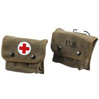 【WW2】米軍 M2 医療ポーチ 複製品