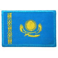 カザフスタン 国旗ワッペン