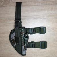 【右利き用】92式拳銃用ホルスター07式林地迷彩 ナイロン素材