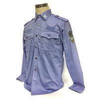 中国人民公安警察 99式制服 夏 長袖シャツ単品