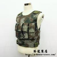 中国人民解放軍 04式防弾背心 林地迷彩