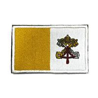 バチカン 国旗ワッペン