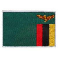 ザンビア 国旗ワッペン
